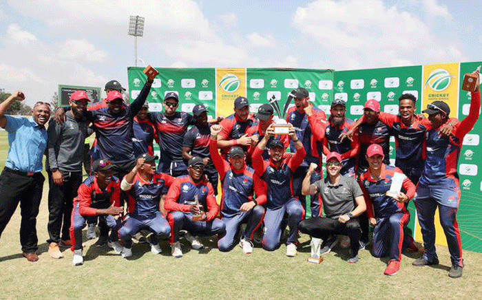 Easterns team after winning CSA Provincial T20. Picture: @Titans_Cricket/Twitter.