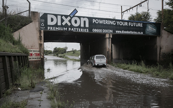 Several areas in Sebokeng were flooded on 31 December 2018 after heavy flooding the night before. Picture: Sethembiso Zulu/EWN