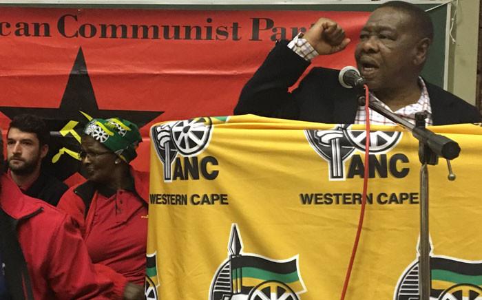 SACP General Secretary Blade Nzimande. Picture: Ilze-Marie Le Roux/EWN.