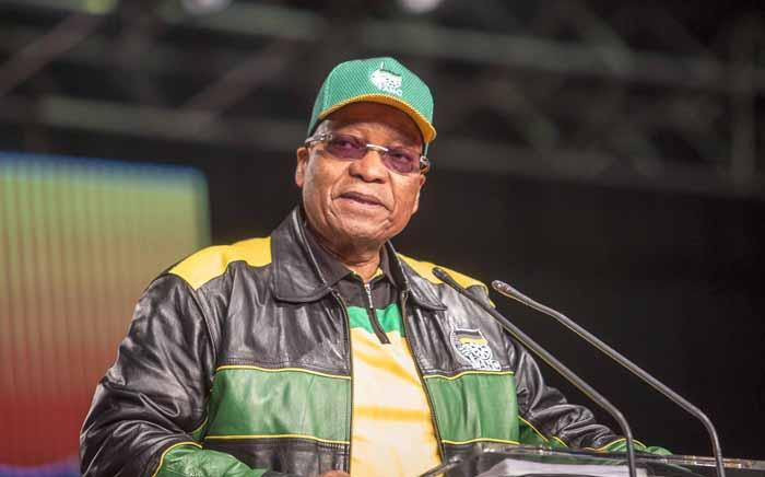 FILE: President Jacob Zuma addresses the ANC national policy conference at Nasrec on 30 June 2017. Picture: Thomas Holder/EWN