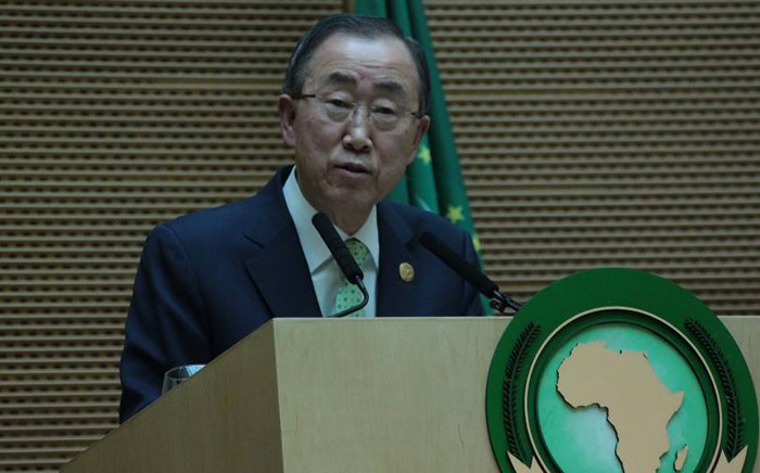 FILE: Secretary-General of the United Nations Ban Ki-Moon. Picture: African Union Facebook page.
