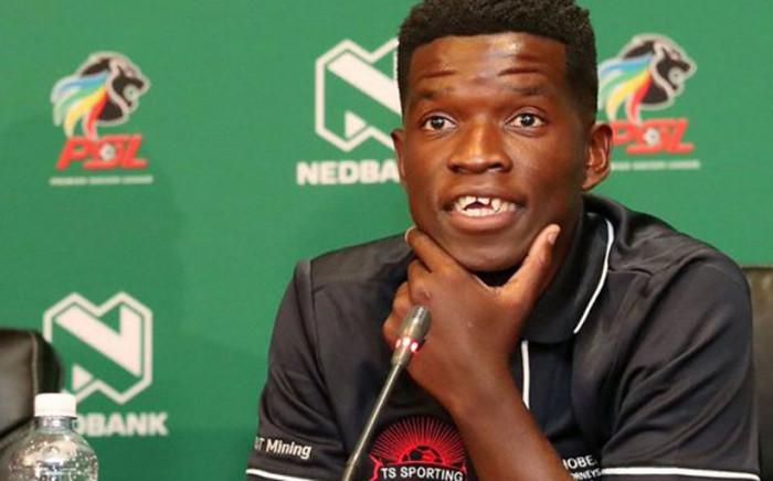 Sifiso Myeni, TS Sporting midfielder. Picture: Twitter @TSSportingFC.