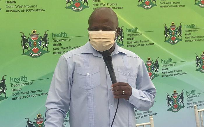 North West Health MEC Madoda Sambatha. Picture: @NorthWestDOH/Twitter