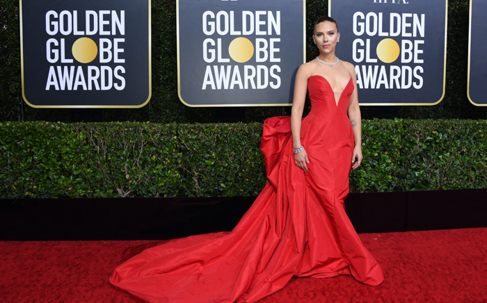 FILE: US actor Scarlett Johansson arrives for the 77th annual Golden Globe Awards on 5 January 2020, at The Beverly Hilton hotel in Beverly Hills, California. Picture: VALERIE MACON/AFP