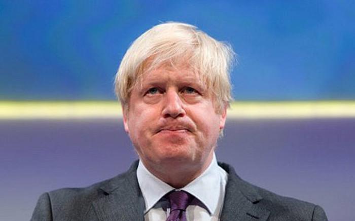 FILE: Boris Johnson.