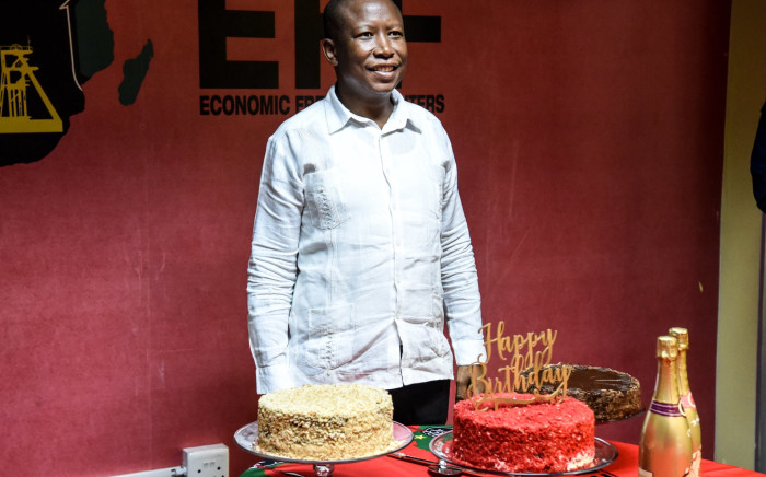 Julius Malema at the EFF celebration for his 39th birthday. Image: @EFFSouthAfrica