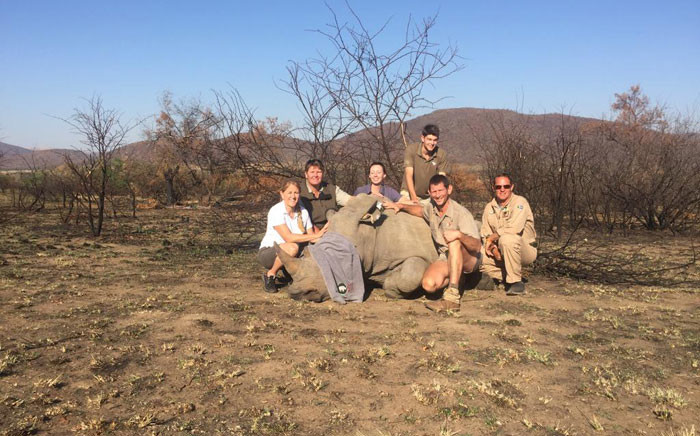 The Rhino911 team. Picture: Refilwe Pitjeng/EWN.