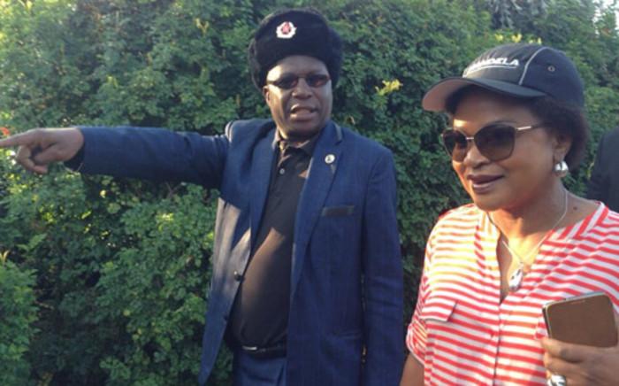Baleka Mbete (R). Picture: EWN.