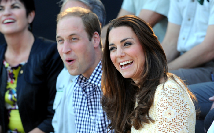 Britain's Duke and Duchess of Cambridge, Prince William and Kate, in Sydney in April 2014. Picture: EPA.