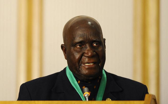 In this file photo taken on August 17, 2010 Former and first Zambian president Kenneth Kaunda delivers a speech during the closing ceremony of the 30th Southern African Development Community (SADC) summit in Windhoek, Namibia. Picture: STEPHANE DE SAKUTIN / AFP