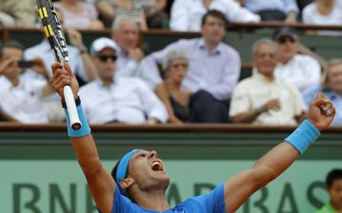 Rafael Nadal beat Andy Murray to reach the final of the 2011 French Open on 3 June. Picture: AFP