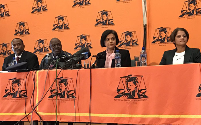 FILE: Prosecutions boss Shamila Batohi (second from right). Picture: Barry Bateman/EWN