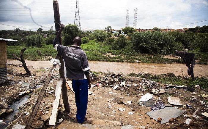 Setswetla residents in Alexandra say they know about the danger of living along the Jukskei River but they have nowhere to go. Picture Sethembiso Zulu/EWN