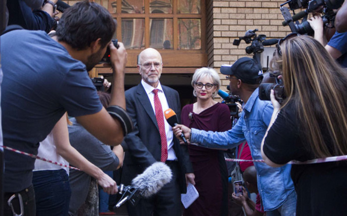 FILE: Arnold Pistorius leaves the High Court in Pretoria after the reading of judgment in the Oscar Pistorius murder trial on 12 September 2014. Picture: Christa Eybers/EWN.