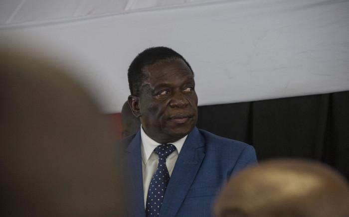 FILE: Zimbabwean President Emmerson Mnangagwa. Picture: Ihsaan Haffejee/EWN