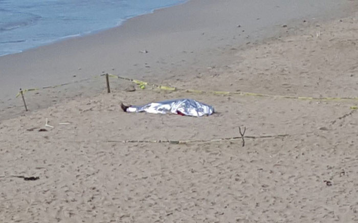 Three people drowned at Monwabisi Beach during a baptism service on 25 March 2018. Picture: Supplied.