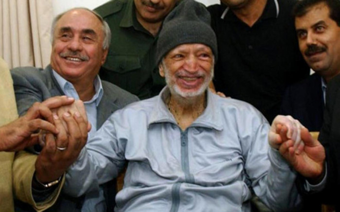 Former Palestinian President Yasser Arafat was surrounded by Tunisian and Egyptian doctors just before his death. Picture: AFP
