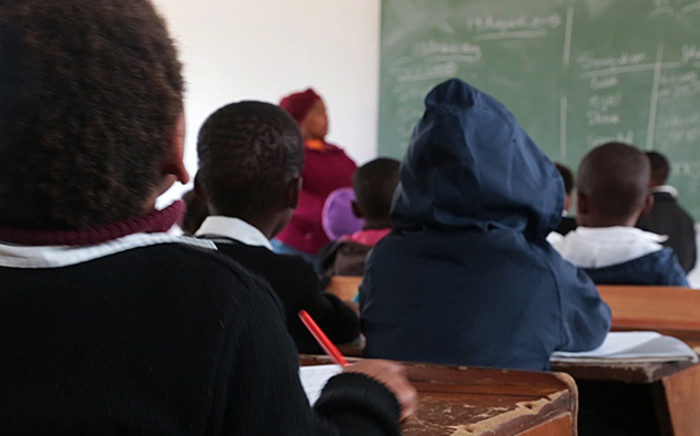 FILE: Pupils sitting in class. Picture: EWN