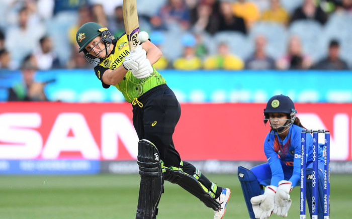 Australia and India are competing in the women's Twenty20 World Cup final on 8 March 2020. Picture: Twitter/@ICC
