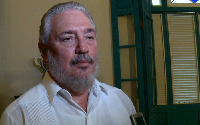 File photo taken on June 1, 2016 of Cuban Fidel Castro Diaz-Balart, son of Cuban leader Fidel Castro. Fidel Castro's eldest son committed suicide: Cuba state media on 1 February, 2018. Picture: AFP.