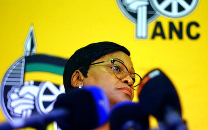 FILE: ANC 's head of organising Nomvula Mokonyane. Picture: Sethembiso Zulu/Eyewitness News.