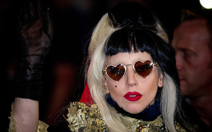 Pop star Lady Gaga. Picture: AFP