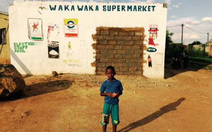 FILE: A spaza shop in Snake Park where 14-yr-old Siphiwe Mahori was shot and killed has been bricked up by its owners. Picture: Dineo Bendile/EWN.