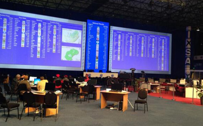A quick glance at the leader board shows the results have slowed down, but a surge is expected soon. Picture: Thando Kubheka/EWN.