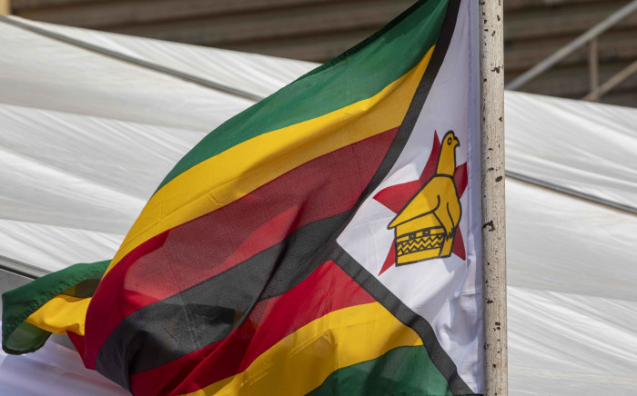 Zimbabwean flag. Picture: Thomas Holder/EWN