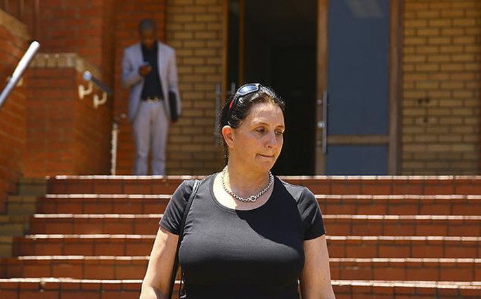 Vicki Momberg is guilty of four counts of crimen injuria after the court found that she knew her actions were unlawful when she used racist language towards police officers in 2016. Picture: Sethembiso Zulu