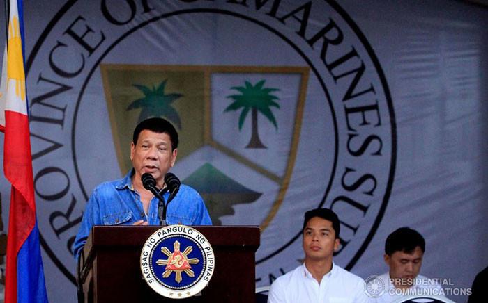FILE: Philippine President Rodrigo Duterte. Picture: Facebook.com