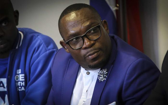 Western Cape DA leader Bonginkosi Madikizela. Picture: EWN
