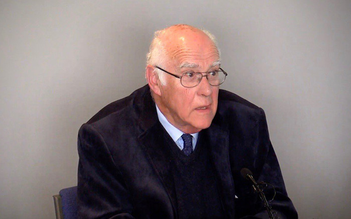 Judge Ian Farlam shared his experience as chairperson of the Commission of Inquiry into the Marikana massacre. Picture: Twitter/ @issafrica