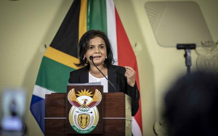 FILE: NDPP Shamila Batohi at the Union Buildings in Pretoria on 4 December 2018. Picture: EWN