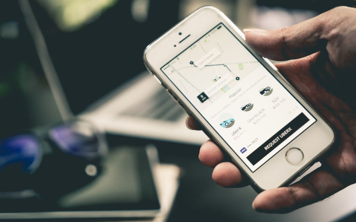 FILE: Uber argues that it is just an app, a platform where the sellers of a service - in this case rides - can meet people who need the service. Picture: 123rf.com