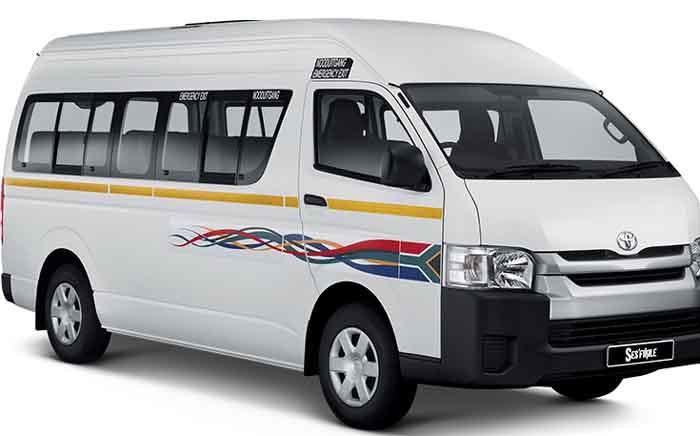 A Quantum minibus taxi. Picture: Supplied.