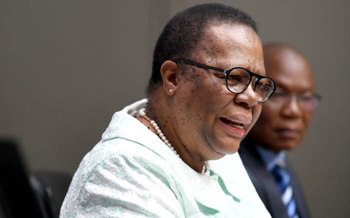 FILE: International Relations and Cooperation Minister Naledi Pandor. Picture: @DIRCO_ZA/Twitter
