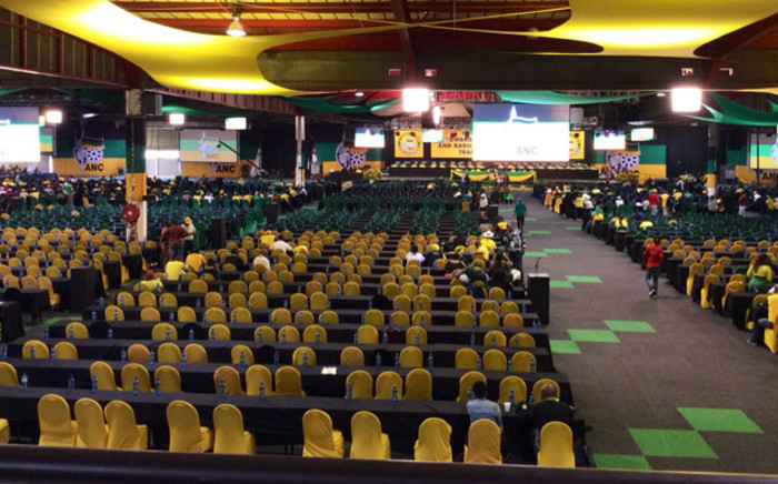 Delegates make their way back to plenary for sessions on the last day of ANC national conference on 20 December 2017 at Nasrec, Johannesburg. Picture: @MYANC/Twitter