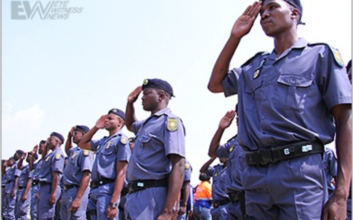 South African Police Service. Picture: EWN