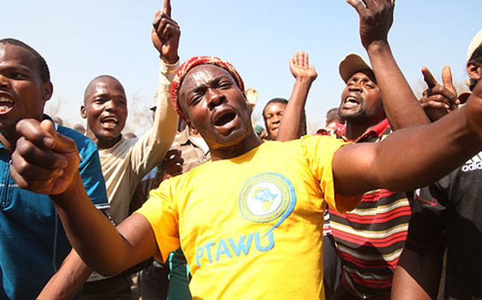 FILE. Former Aurora miners have not been paid since the company was liquidated. Picture: EWN.