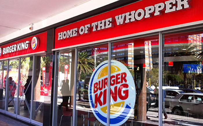 FILE: A Burger King franchise. Picture: EWN