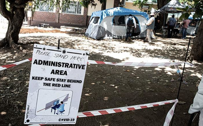 The Lebombo border post between South Africa and Mozambique on 12 January 2021. It remains closed for arrivals following the announcement of new regulations by President Cyril Ramaphosa. Picture: Boikhutso Ntsoko/Eyewitness News