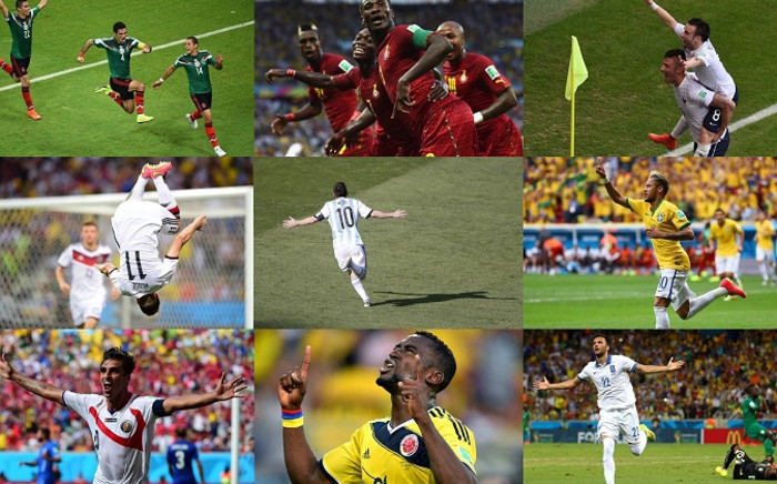 A record 136 goals were scored during the group stage of the 2014 World Cup. Picture: Facebook/EWN