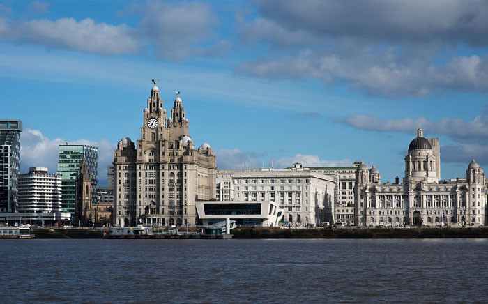 A view of the The River Mersey in Liverpool, looking towards the Royal Liver Building. Picture: pixabay.com