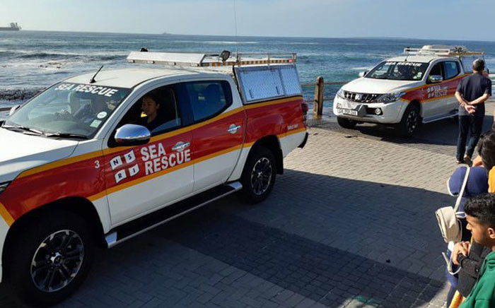 The NSRI launched a search for missing teenagers at Sea Point beach on 24 November 2019. Picture: @NSRI/Twitter