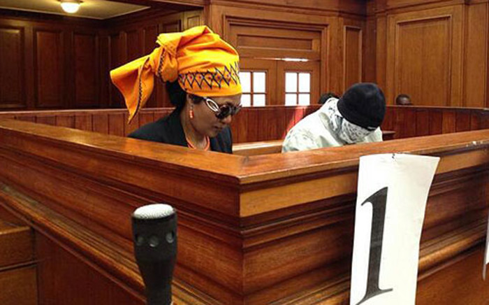 FILE: Thandi Maqubela and her co-accused Vela Mabena in court on 4 November 2013. Picture: Rahima Essop/EWN.