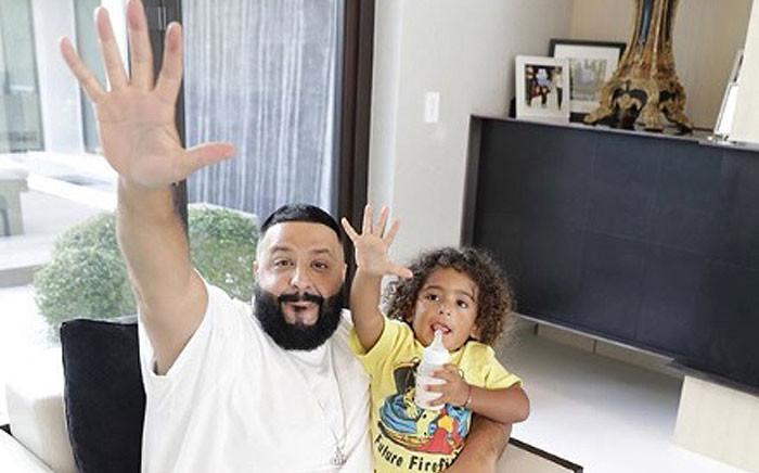 DJ Khaled and his son, Asahd. Picture: @djkhaled/instagram.com