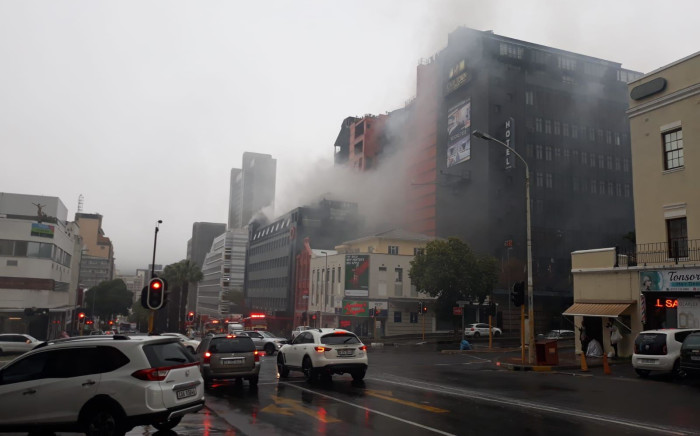 Fire at Public Protector's CT office leaves storeroom and documentation damaged.