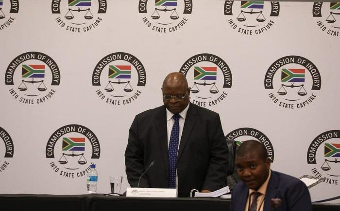 Deputy Chief Justice Raymond Zondo at the state capture commission of inquiry in Parktown on 8 October 2019. Picture: Kayleen Morgan/EWN