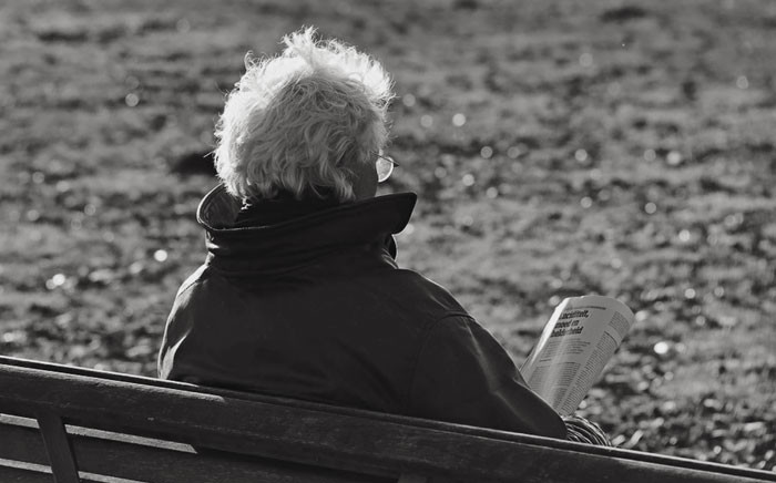 FILE: An elderly person reads a newspaper. Picture: pixabay.com